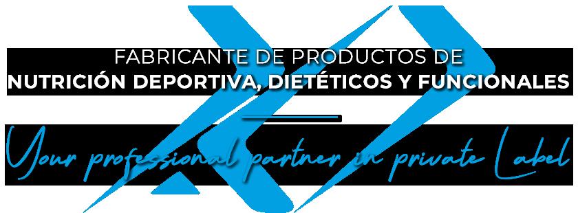Fabricante de Productos de Nutrición Deportiva, Dietéticos y Funcionales